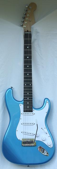 Blue Custom Stratocaster