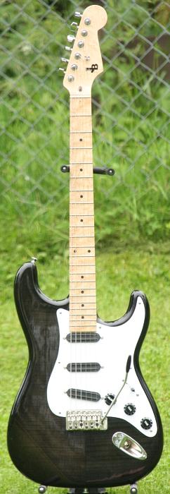 Black Custom Stratocaster
